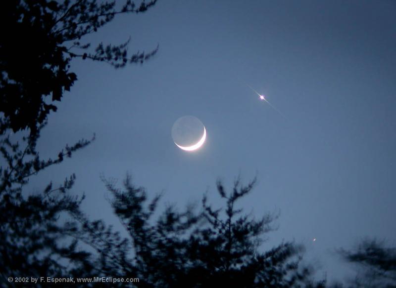 Нажмите на изображение для увеличения Название: MoonVenusMars_espenak_full.jpg Просмотров: 19 Размер:34,1 Кб ID:52593