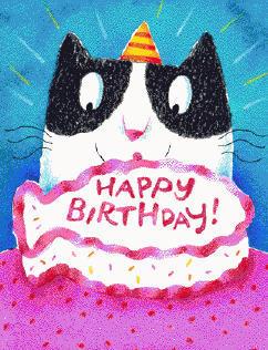 Нажмите на изображение для увеличения Название: Happy-Birthday-cat-cake (1).jpg Просмотров: 34 Размер:33,5 Кб ID:53035