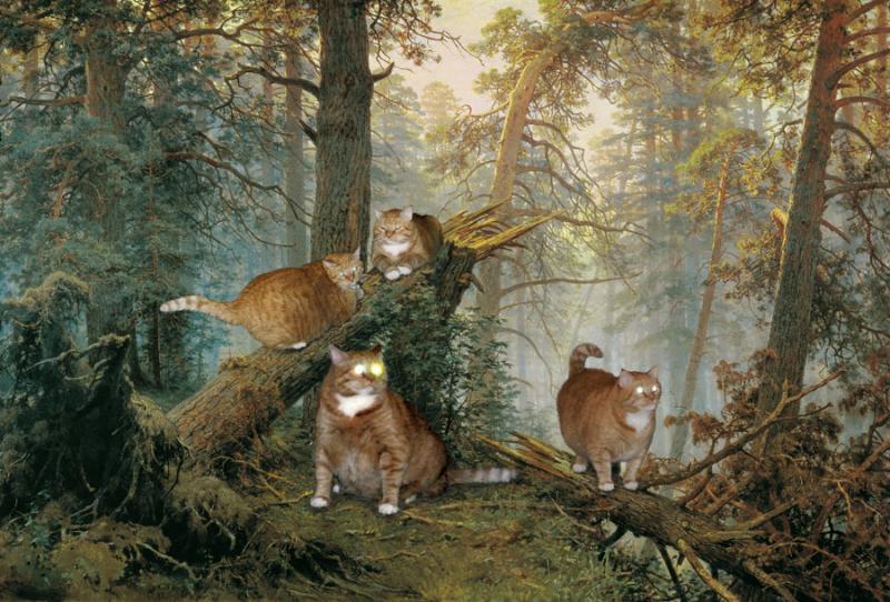 Нажмите на изображение для увеличения Название: Shishkin-Morning-in-a-Pine-Forest-cat-sm.jpg Просмотров: 33 Размер:93,7 Кб ID:55515