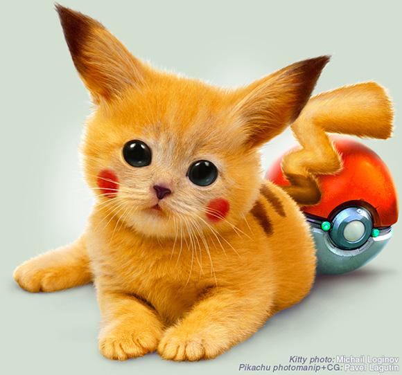 Нажмите на изображение для увеличения Название: The-Real-Pikachu-by-Pavel-Lagutin.jpg Просмотров: 17 Размер:115,3 Кб ID:55992