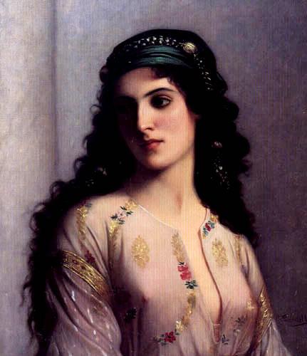 Нажмите на изображение для увеличения Название: 84157611_Charles_Zacherie_Landelle__French_18121908___Jewish_Woman_from_Tangers.jpg Просмотров: 25 Размер:46,0 Кб ID:60475