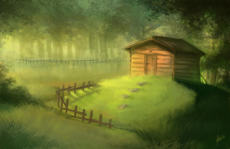 Нажмите на изображение для увеличения Название: Forest hut.jpg Просмотров: 18 Размер:55,9 Кб ID:62009