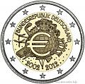 Нажмите на изображение для увеличения Название: germany-2e-2012-10-jahre-euro.jpg Просмотров: 51 Размер:85,6 Кб ID:66204