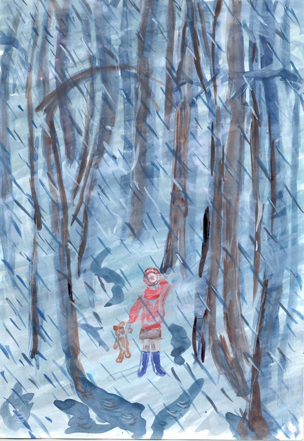Нажмите на изображение для увеличения Название: девочка в лесу.jpg Просмотров: 40 Размер:106,5 Кб ID:67415