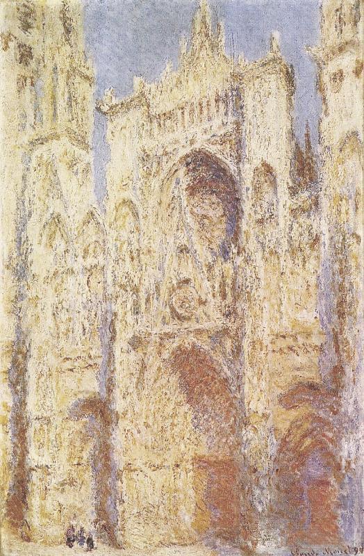 Нажмите на изображение для увеличения Название: Claude_Monet_-_La_Cathédrale_de_Rouen,_Le_Portail_au_Soleil.jpg Просмотров: 26 Размер:131,5 Кб ID:72975