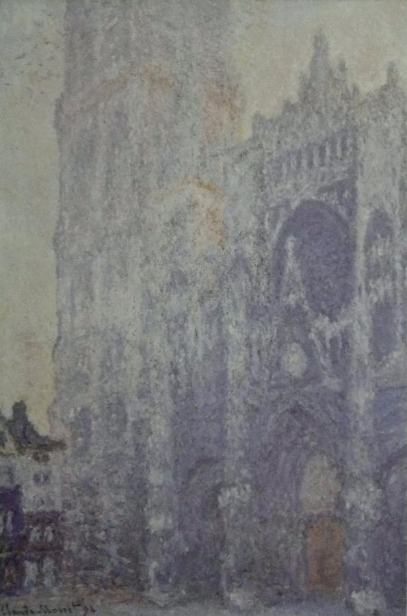 Нажмите на изображение для увеличения Название: Claude_Monet_-_Cathédrale_de_Rouen._Harmonie_blanche.jpg Просмотров: 27 Размер:64,1 Кб ID:72976