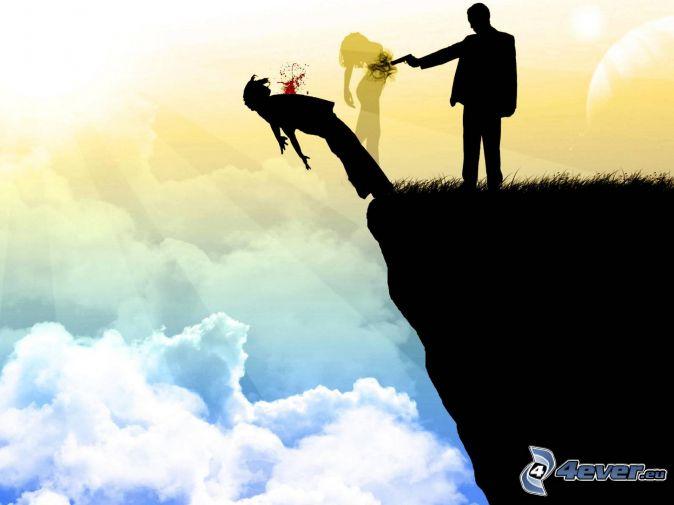 Нажмите на изображение для увеличения Название: murder,-silhouette,-cliff,-sky-149420.jpg Просмотров: 10 Размер:30,9 Кб ID:75080