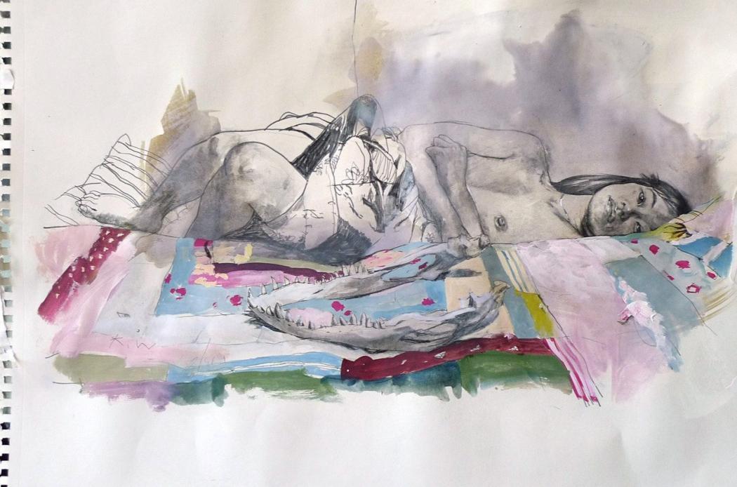 Нажмите на изображение для увеличения Название: Kent Williams sketches_1.jpg Просмотров: 17 Размер:89,8 Кб ID:77563