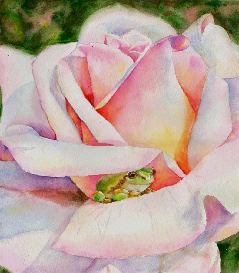 Нажмите на изображение для увеличения Название: лягушка в цветке2.jpg Просмотров: 29 Размер:95,9 Кб ID:83550